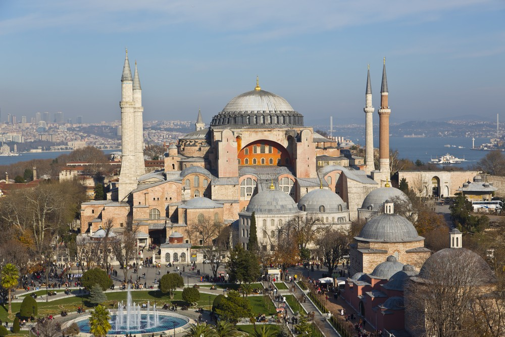 Hagia Sophia Mosque, Istanbul, Turkey, , largest Christian Cathedral in the World, Ottoman Empire, Museum, Muslim Emperor