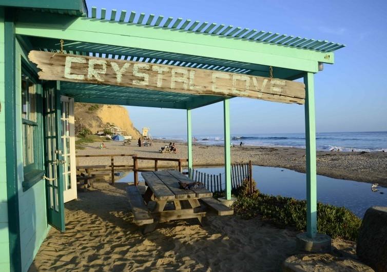 Crystal Cove, Hollywood, Malibu type getaway, California State Beach